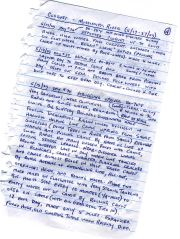 Pages from Eriks journal