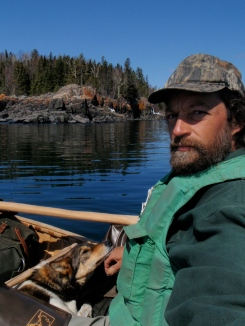 Over the past summer Erik Simula and his dog Kitigan paddled a 1,000-mile route from Grand Portage to Duluth, to the Mississippi River and the US-Canadian Border, then back to Lake Superior in a handmade birch bark canoe.
